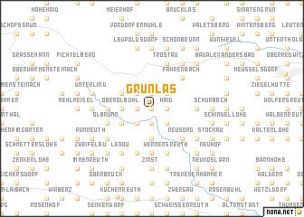 map of Grünlas