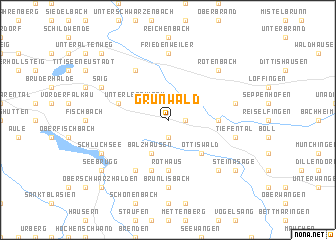 map of Grünwald