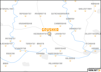 map of Grushka