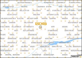 map of Gschöd