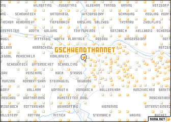 map of Gschwendthannet