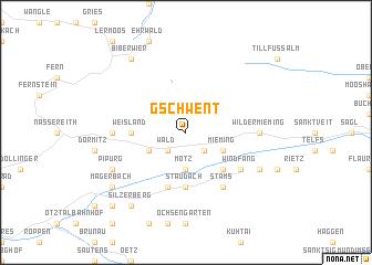 map of Gschwent