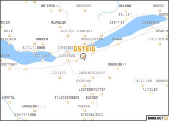 map of Gsteig