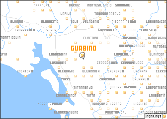 map of Guabino