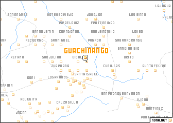 map of Guachinango