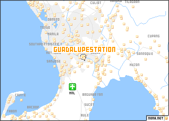 map of Guadalupe Station