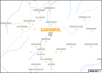 map of Guaimaral
