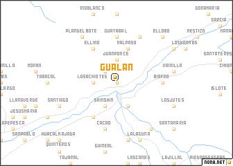 Gualn Guatemala map nonanet