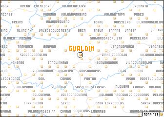 map of Gualdim