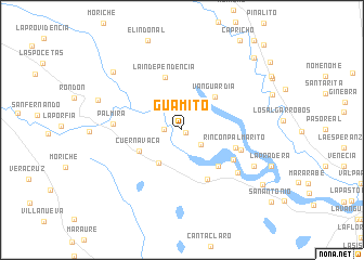 map of Guamito