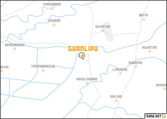 map of Guanlipu