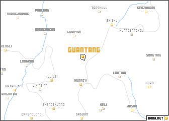 map of Guantang