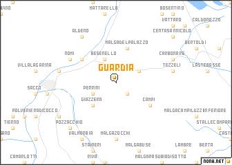 Guardia Italy Map Nona Net