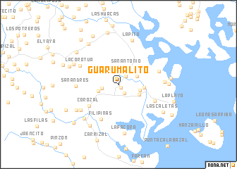 map of Guarumalito