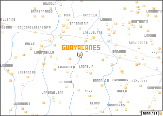 map of Guayacanes