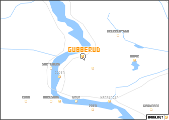 map of Gubberud