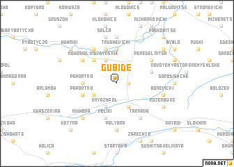 map of Gubide