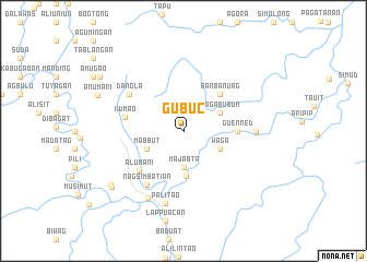 map of Gubuc