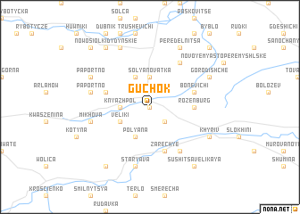 map of Guchok