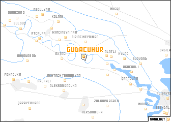 map of Güdǝcühür