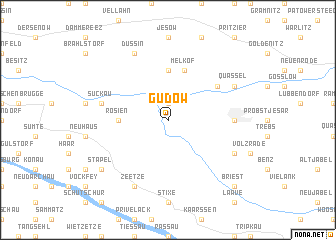map of Gudow