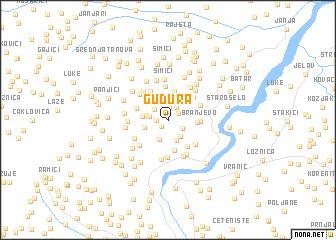 map of Gudura
