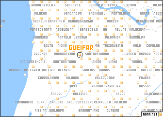 map of Gueifar