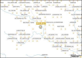 map of Güera