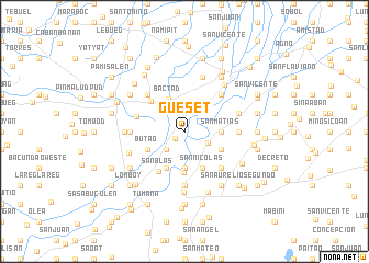 map of Gueset