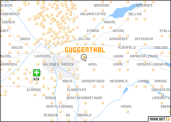 map of Guggenthal