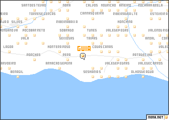 map of Guia