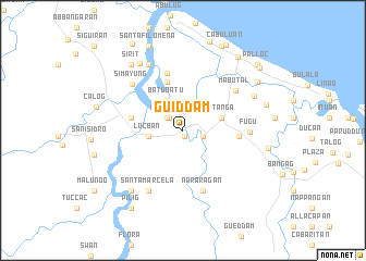 map of Guiddam