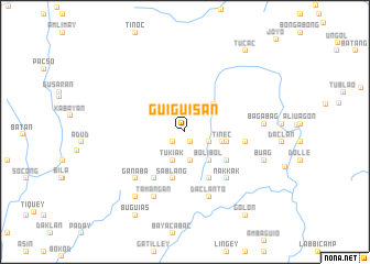 map of Guiguisan