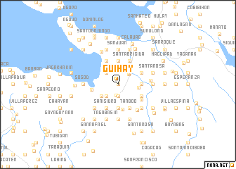 map of Guihay