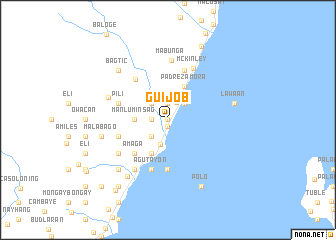 map of Guijob