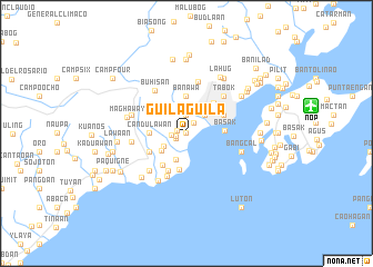 map of Guilaguila