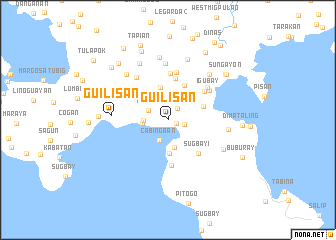 map of Guilisan