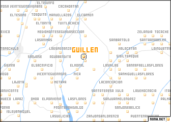map of Guillén