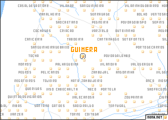 map of Guimera
