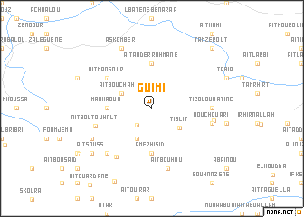 map of Guimi