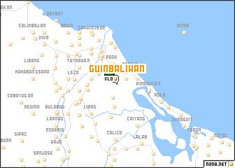 map of Guinbaliwan