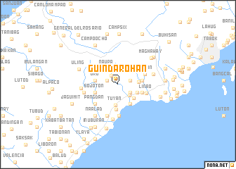 map of Guindarohan