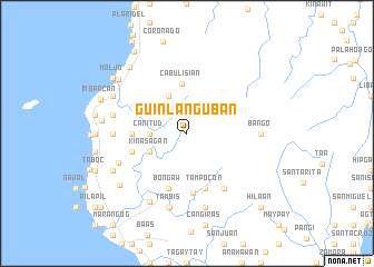 map of Guinlanguban