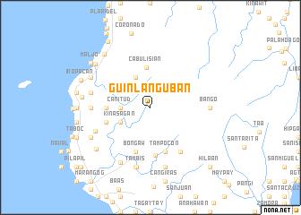 map of Guinlanguban
