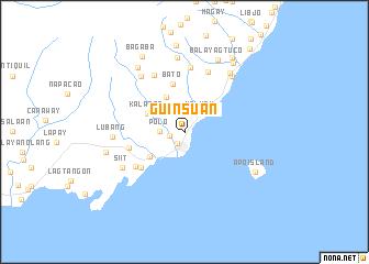 map of Guinsuan