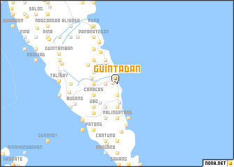 map of Guintadan