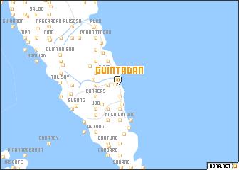 map of Guintadan