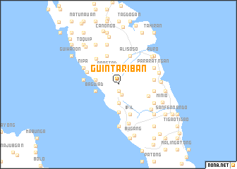 map of Guintariban