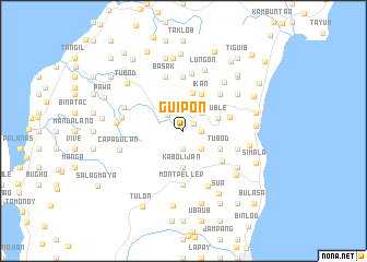 map of Guipon
