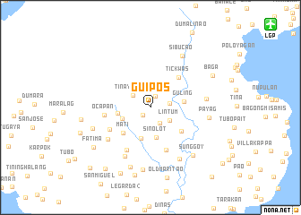 map of Guipos